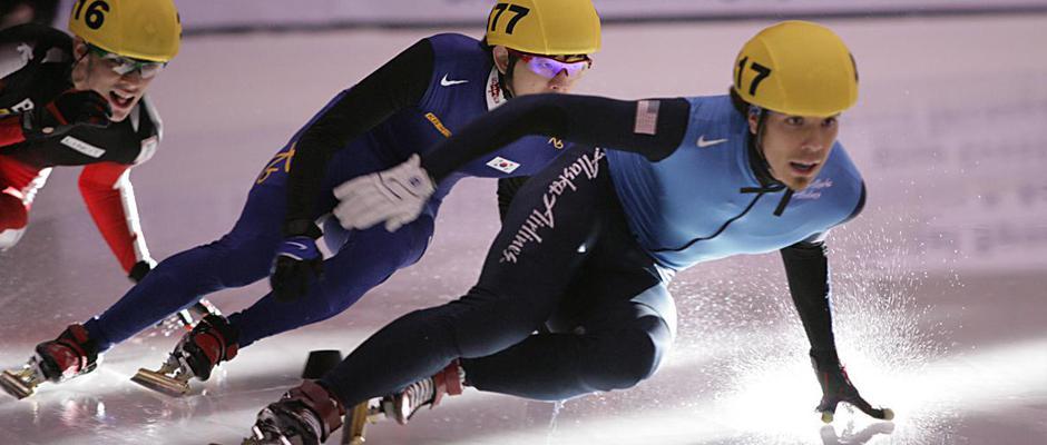 Apolo Anton Ohno - World Champion Speed Skater, USA Olympic Speed Skater